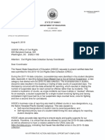 HIDOE Letter to the ED