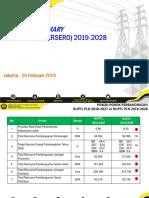 190220--Executive Summary RUPTL PLN 2019-2028