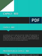 Capa 3 - Red