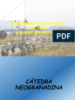Presentacion  Catedra Neogranadina