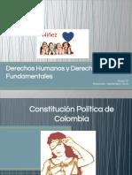 Derechos Humanos y Derechos Fundamentales PRESENTACION