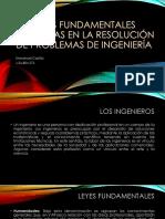 Leyes Fundamentales Aplicadas en La Resolución de Problemas