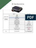 HTP 1080P Model Specs& Prices