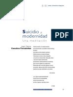 Fernández 2016 Suicidio y Modernidad Una Meditacion