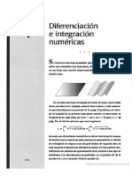 4 Diferenciacion e Integracion Numericas