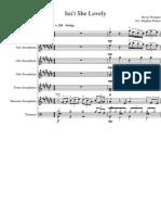 Isnt She Lovely Saxophone Ensemble