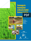 Technologies for Improving Rural Livelihoods in Rainfed Systems in South Asia