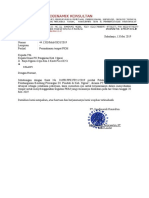 Surat Permohonan PKM