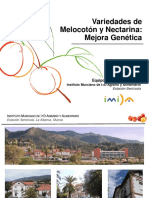 Variedades de Melocotón Adaptadas a Las Condiciones Climáticas de Andalucía Occidental José E. Cos