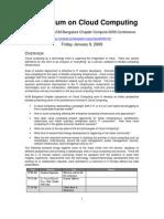 Symposium on Cloud Computing