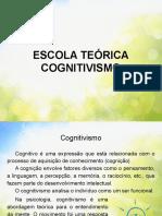 Escola Teórica Cognitivismo