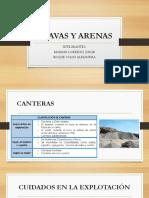 GRAVAS Y ARENAS