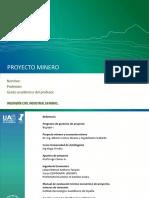 Proyecto Minero y Economia Minera