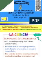 01 CIENCIA  EPISTEMOLOGÍA.ppt