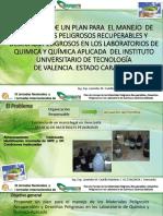 Reactivos y Sustancias en Laboratorio Manejo de Mpr y Dp en Pnf Imi Amb