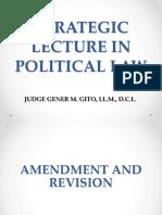 Judge Gito Strategic Lecture in Political Law (1)