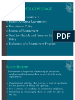Recruitment- Selection 1