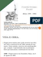 Construtivismo Piaget