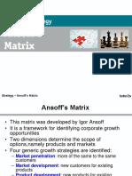 Ansoff Matrix Presentation (1)