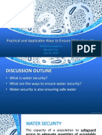 Session A1 - PAWD Convergence 2019 Water Security