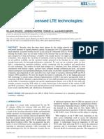 Evaluating Unlicensed LTE Technologies LAA vs LTE