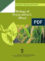 Biology of Rice