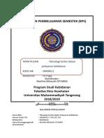 RPS Teknologi Terkini Dlm Pelayanan Kebidanan