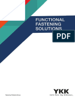 Functional Fastening Solutions Catalogue