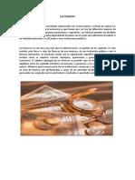 Concepto Las Finanzas