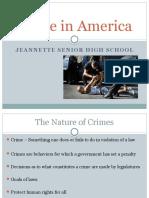Crimes in America