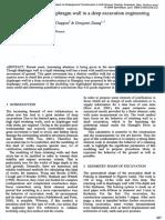 Analysis of Diaphragm Wall