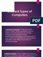 Different Types of Computers