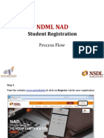 NAD Student Registration Process