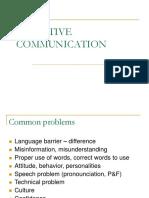 Effective Communication Module