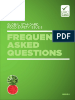 Brc Global Standard for Food Safety Issue 8 Faqs