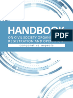 HANDBOOK OF CIVIL SOCIETY ORGANIZATION