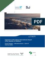 1290 01-00-000 RPT CL 401 00_Final Design Infrastructure Deliverables List