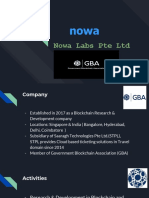 Nowa Labs - Jan2018 - Suresh