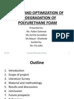 Kinetic Study of Degradation of PU Foam (2)