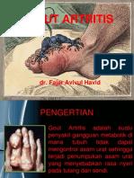 Gout Artritis Slide