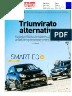 """DACIA SANDERO STEPWAY TCe 90 Bi-FUEL FRENTE AO SEAT IBIZA 1.0 TGI e SMART FORTWO EQ NA """"AUTO FOCO"""""""