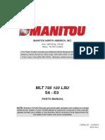 Manitou MLT735 PartsManual (1)