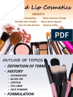 FACE and LIP Cosmetics