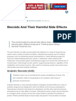 Steroids and Their Harmful Side Effects _ Muscle & Strength