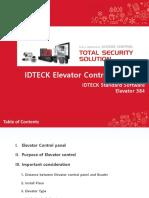 IDTECK_Elevator Access Control Design & Configuration (Standard)_20190314