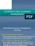 International+Business+Management