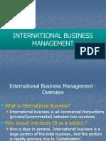 International+Business+Management