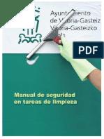 Guía Actividad Limpieza Ayuntamiento Vitoria