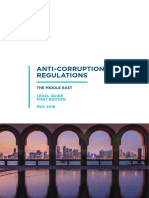 Middle East Anti Bribery and Corruption Regulations Legal Guide 2018