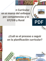 1 Proceso de Planificación Curricular